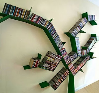 Macam-Macam Rak Buku yang Unik