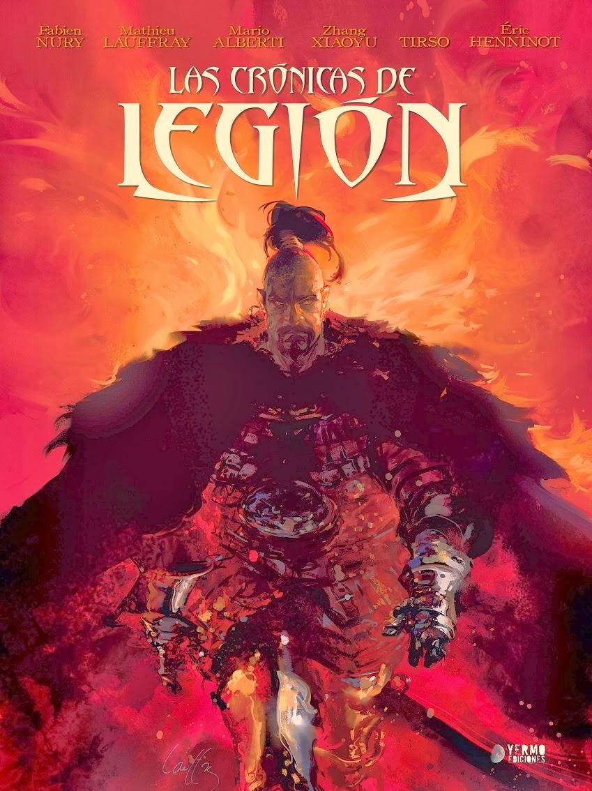 las cronicas de legion comic