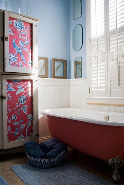 Cosas de palmichula forrar muebles con papel pintado for Papel pintado para decorar muebles