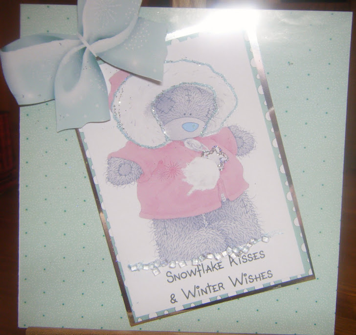Tatty teddy xmas card