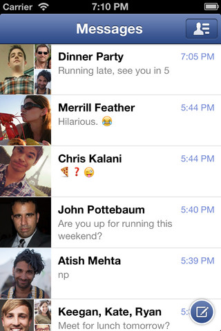 screenshot 4 Facebook Messenger v2.1