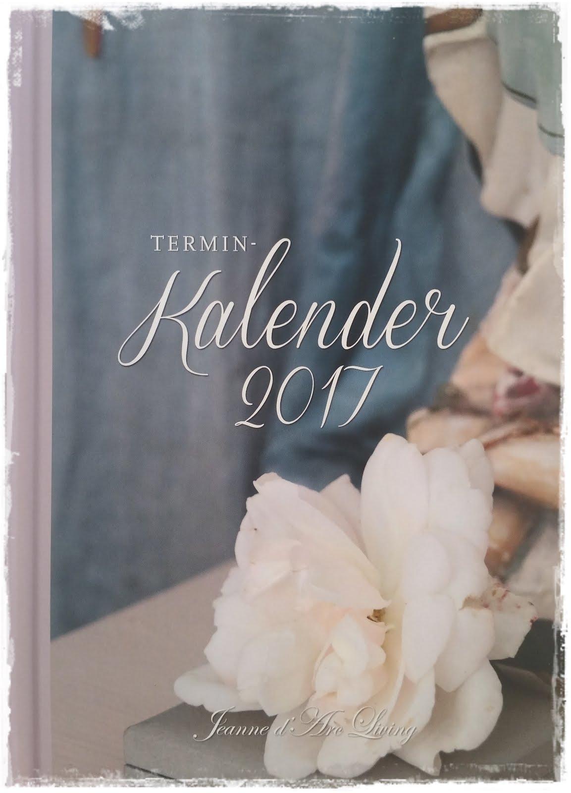Der neue JDL Termin Kalender 2017 ist im Online-Shop