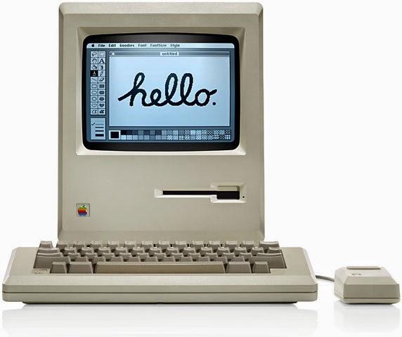Macintosh 128K начало эры моноблоков