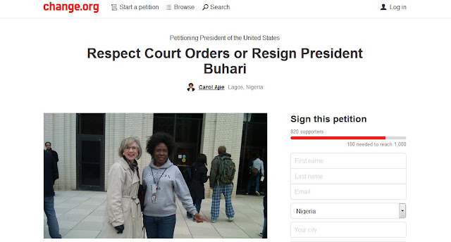 Respect Court Of Orders Or Resign Now - Attorney Sets Up International Petition Against Nigerian President (Photos)