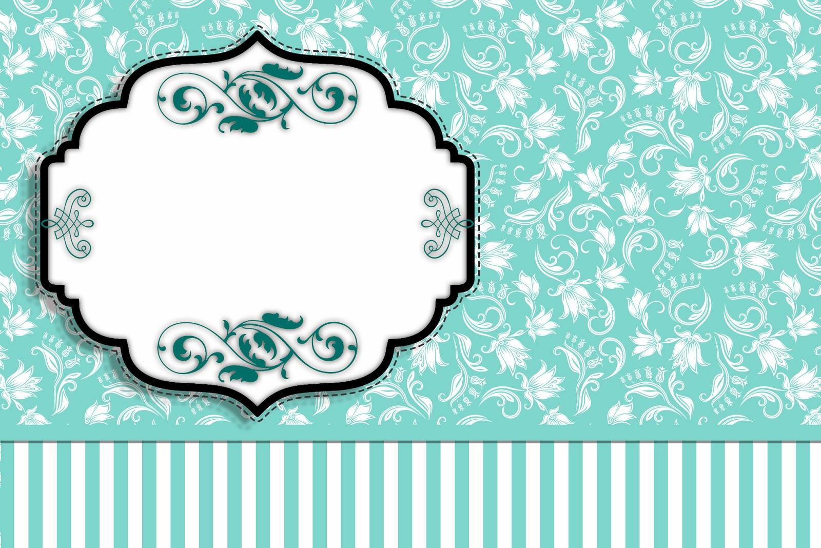 Fiesta Tiffany: Invitaciones para Imprimir Gratis. | Ideas y ...