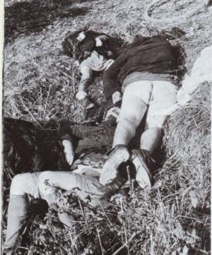 Éthique militaire chez les sauvages Francs Maçons d'Occident  Holocaust-victims-raped-german-women-children