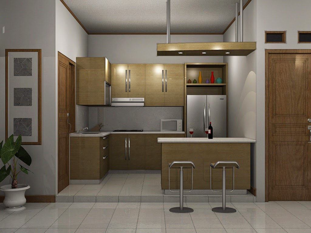 Dapur Rumah Minimalis Terbaru 2015