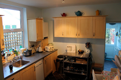 Badly designed kitchen