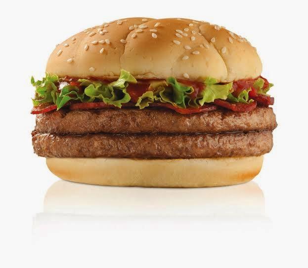 Premium Pepperonie mcdonalds nueva hamburguesa carne pollo