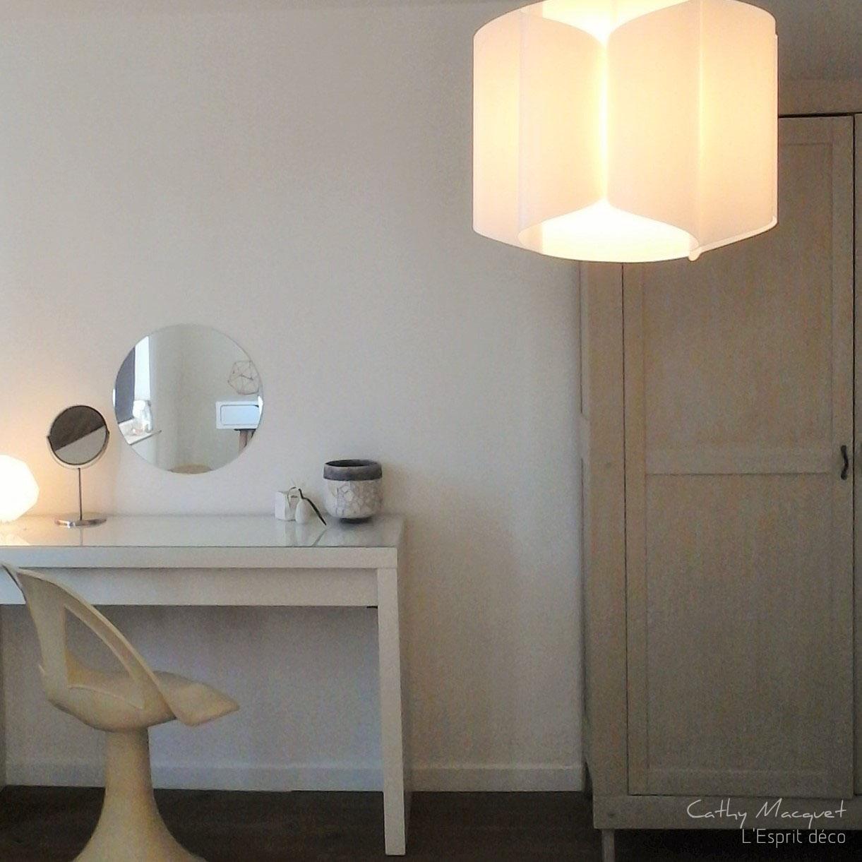 l\'Esprit Déco - Cathy Macquet: Une chambre blanche...