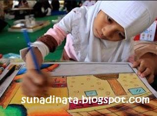 Soal UAS KTSP Kelas 2 SD Mata pelajaran SBK Semester 1 / Ganji