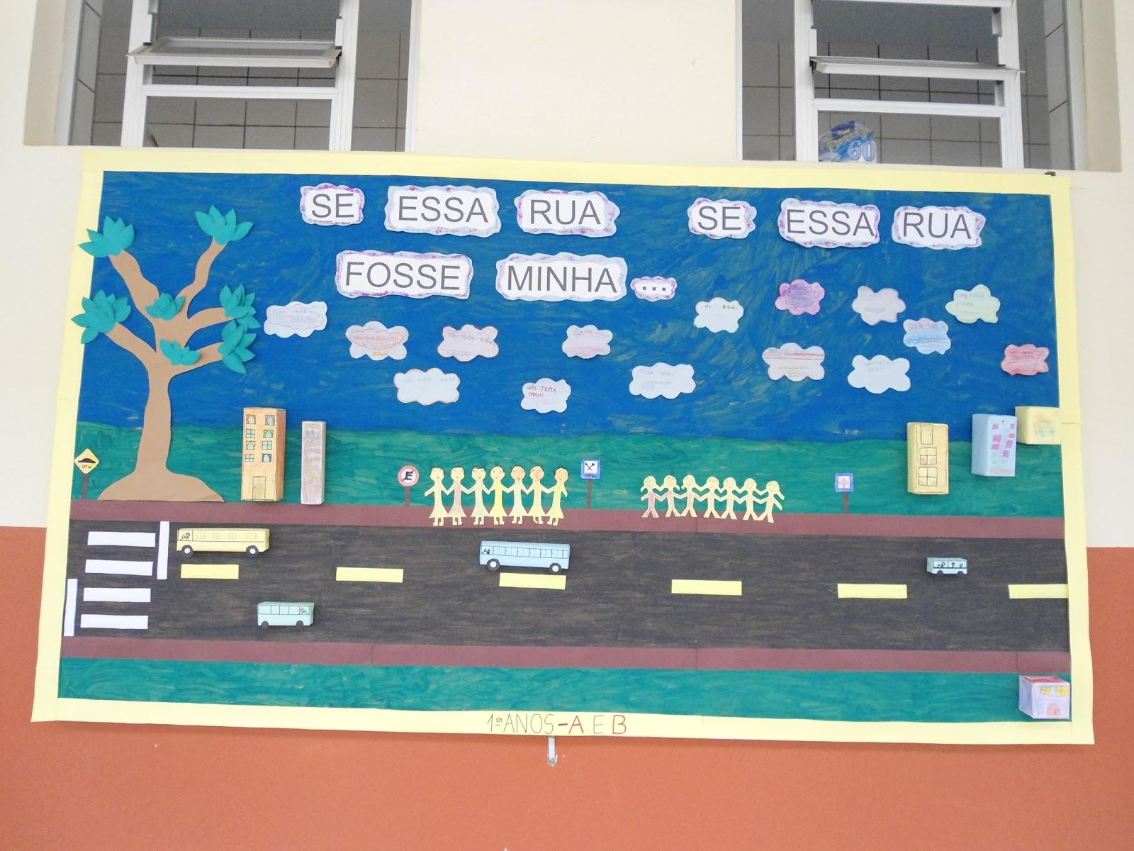 E m dr sadalla amin ghanem murais que embelezam nossa for Mural sobre o transito