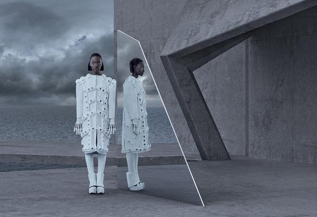 IIMUAHII Couture 2015 Lookbook | © Kristina Varaksina & Rémy Trappier