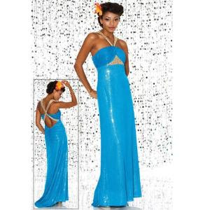 She fashions prom dresses 14