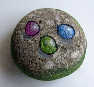 painted rocks, rock painting, how to, gems