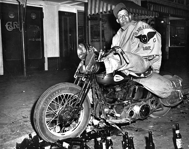 Speedboys Tulare Raiders Mc Hollister Riot 1947