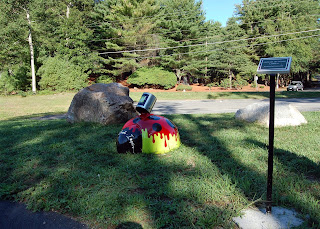 Sculpture Park, Franklin Art Center ladybug