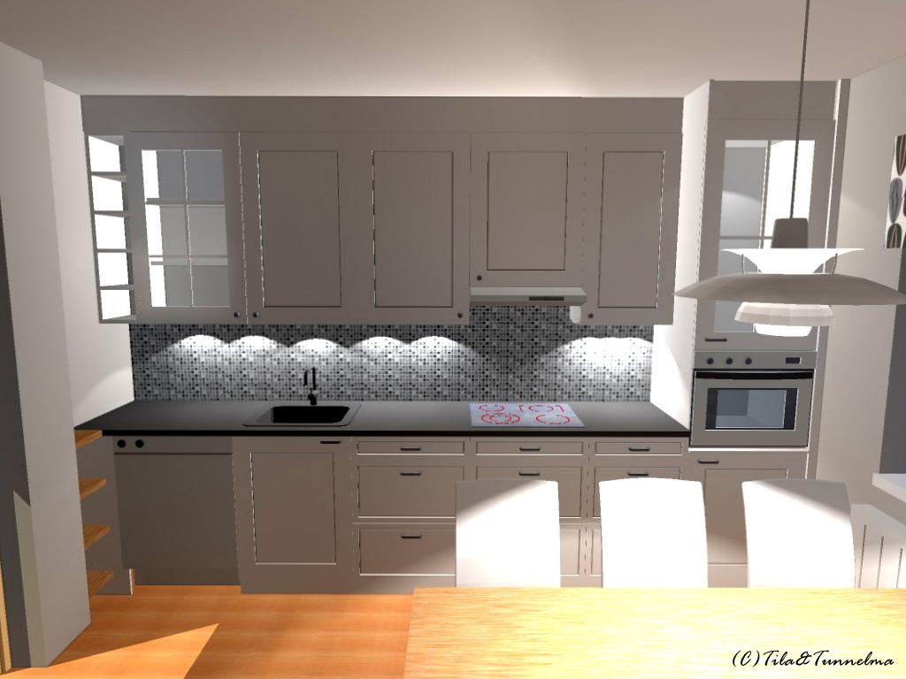 TilaTunnelma Kylpyhuone ja keittiö uusiksi putkiremontin ohessa