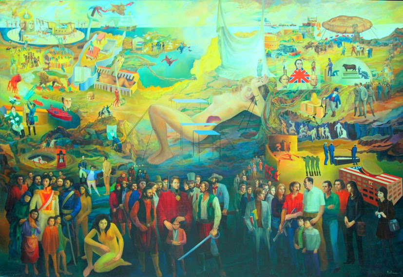 San Martín, Rosas y Perón.