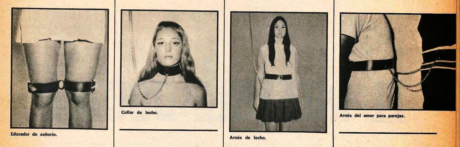 catalogo de aticulos bdsm vintage 1972