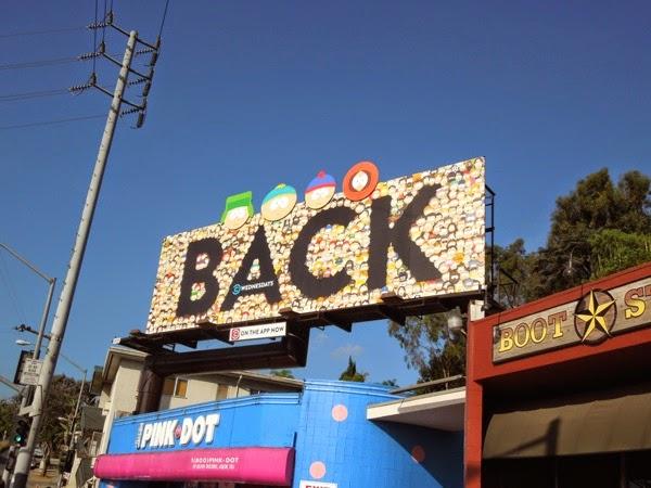 South Park season 18 Back billboard