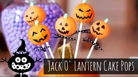 How to Make Halloween Jack O lantern cake pops (hallows' eve treats and recipes) via geniusknight.blogspot.com holiday knight