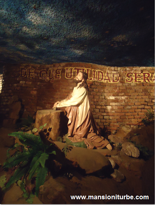 Replica of the Holy Sepulcre in Tacambaro