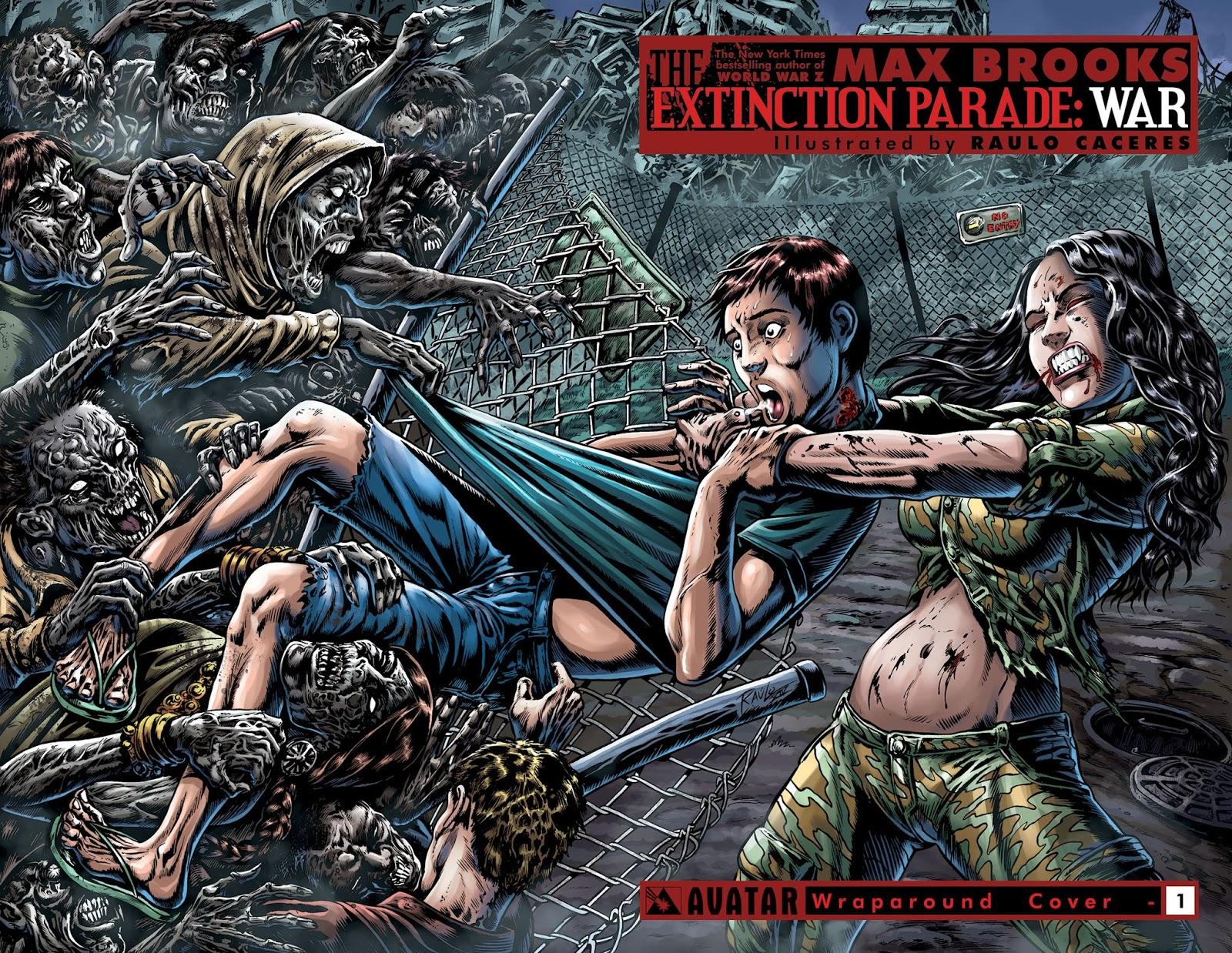 Extinction Parade Pdf Extinction Parade Comic