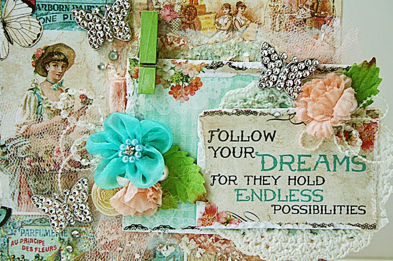 Follow-your-dreams-mixed-media-canvas by Yvonne Yam