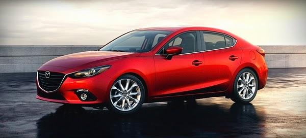 2014 Mazda3 4 door Redesign