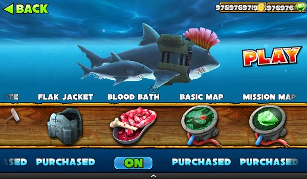 Hungry Shark Evolution v3.3.2 Full Hileli Apk İndir
