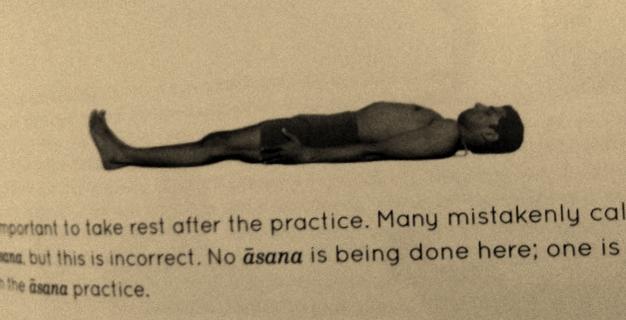 Savasana or No asana?