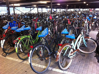bicicletas en  Rotterdam