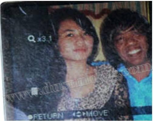 Foto Sri Rahayu dan Pak Tarno