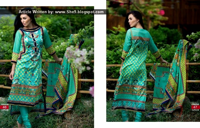 Firdous Korean Lawn 2015 with Prices