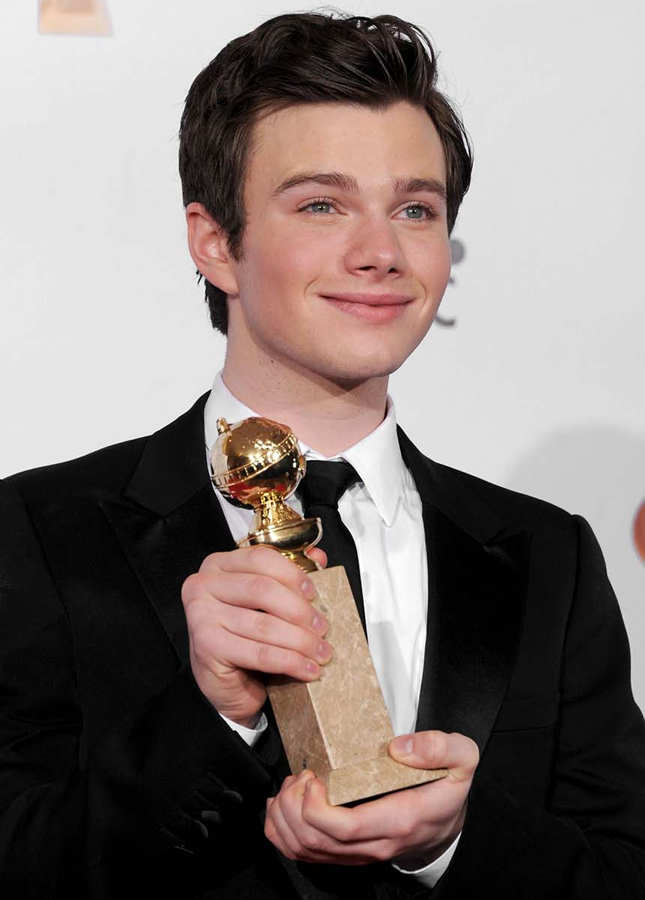 Chris Colfer da série 'Glee' (Foto: Getty Images)