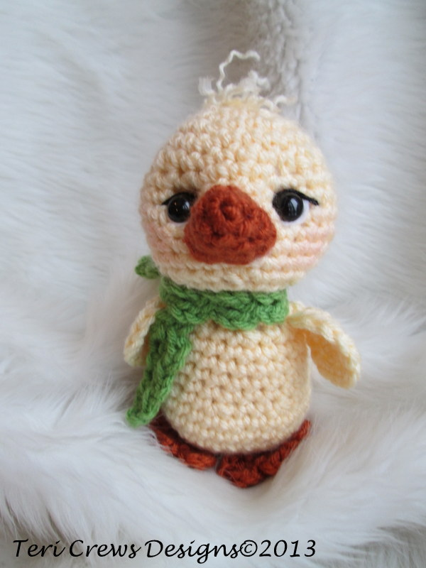 Teris Blog Free Cute Chick Crochet Pattern