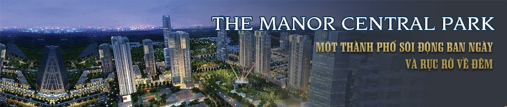 Wesite giới thiệu dự án The Manor Central Park