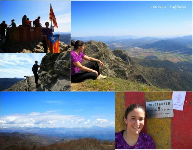 100 cim d'Enfilades_el Puigsacalm