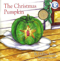 Debbie Reece's book The Christmas Pumpkin helps children with accepting new things and people
