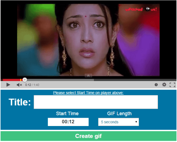 Gif YouTube, YouTube videos, How to create animated gifs, create animated gifs from YouTube