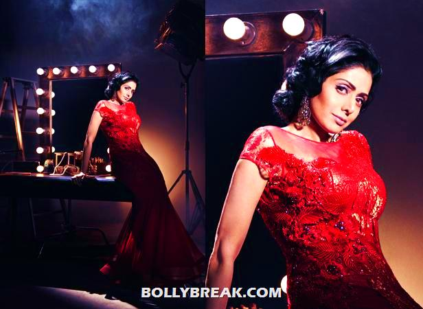 - (6) -  Sridevi's Photoshoot for Filmfare