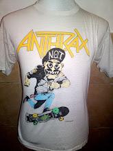 Vintage Anthrax Skate 1987