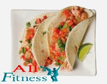 Salmon Tacos with Salsa
