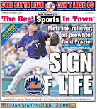 Mets actually get a back page