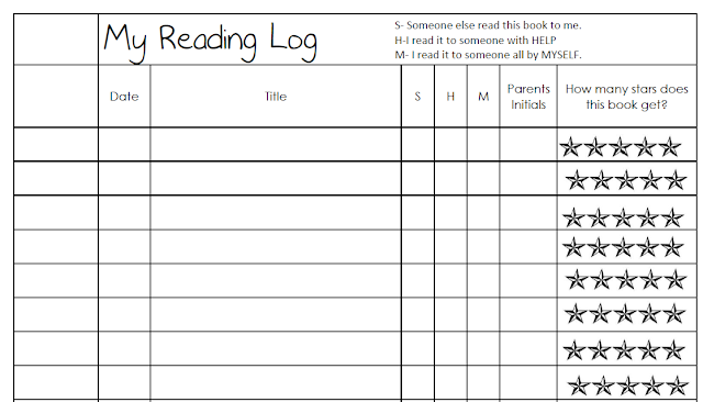1st Grade Reading Log Pictures to Pin PinsDaddy – Reading Log Template