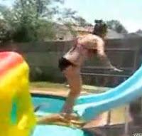 bikini backflip fail