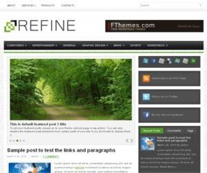 Refine WordPress Theme