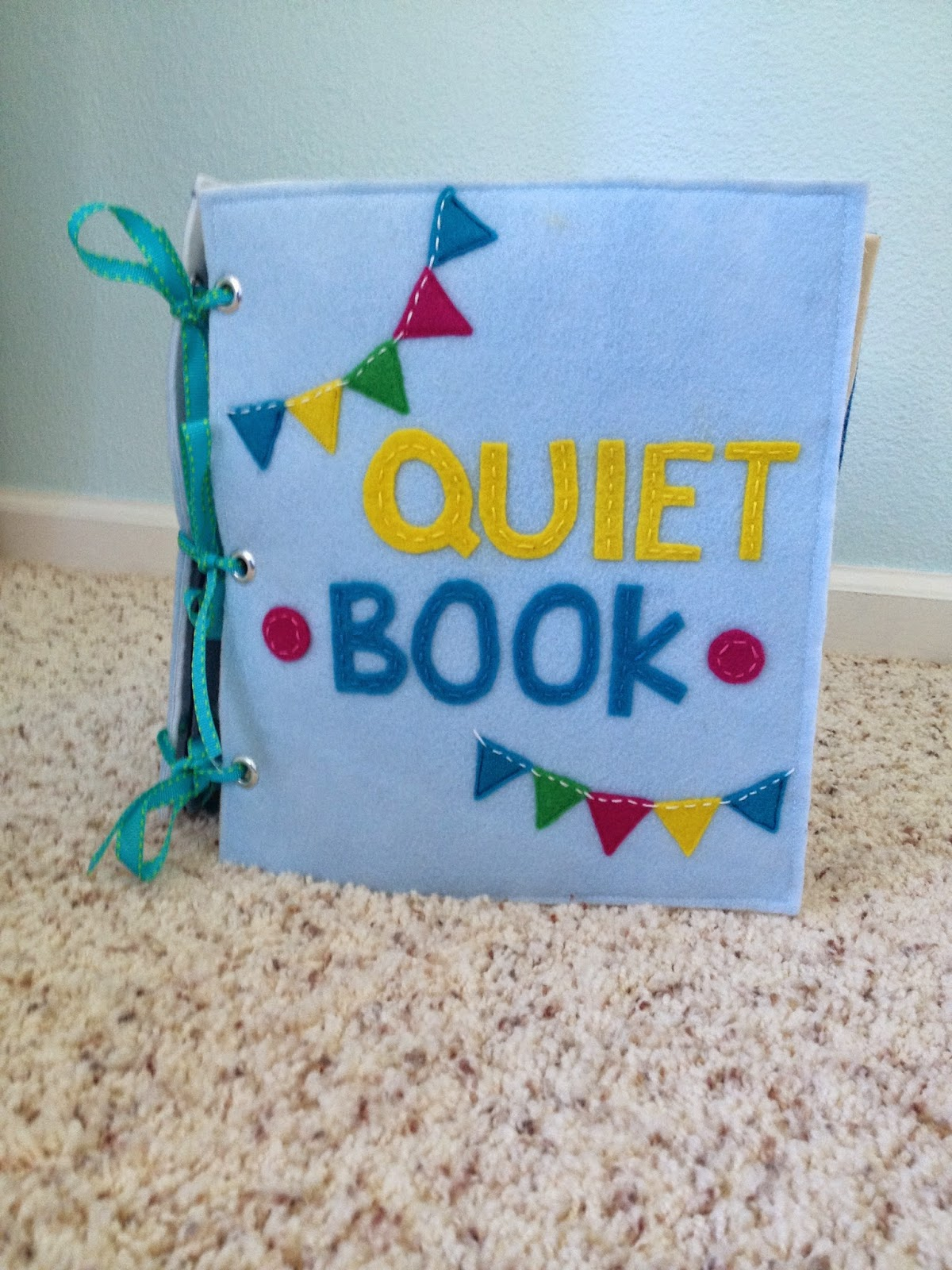 Quiet Book Cover Page Ideas : Jack s quiet book revealed the wallace house