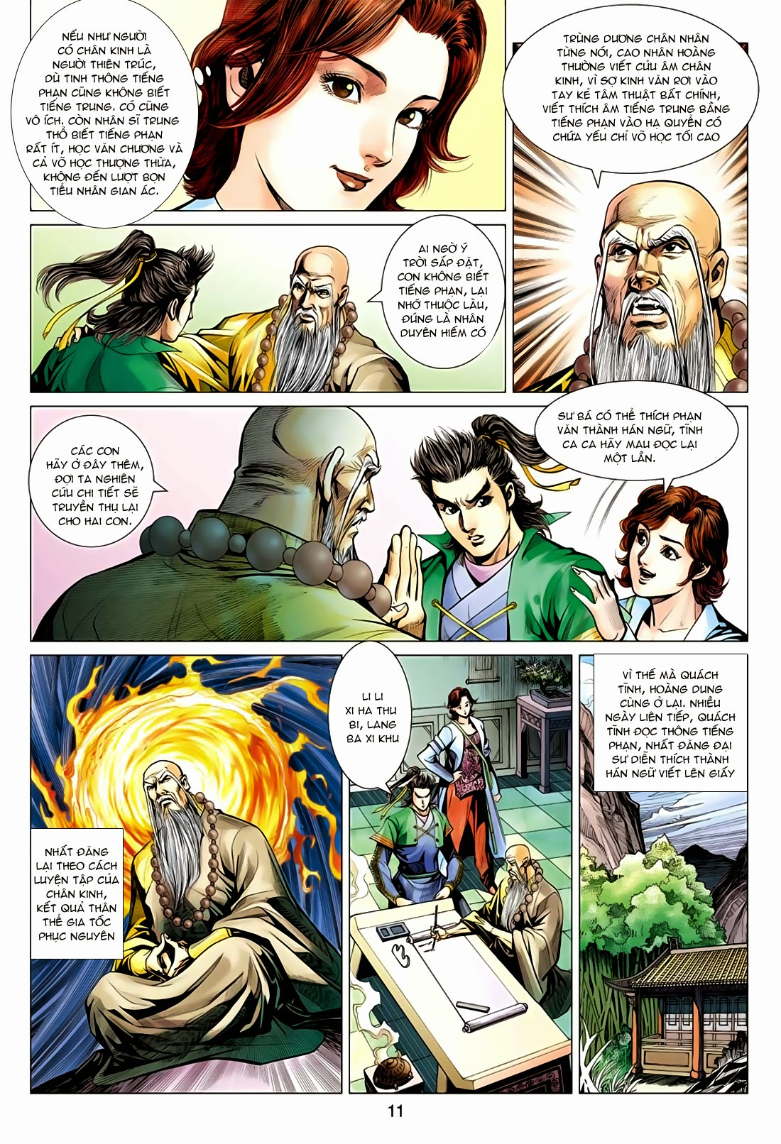 xem truyen moi - Anh Hùng Xạ Điêu - Chapter 80: Quyết chiến Thanh Long Tập
